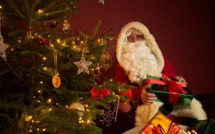 Santa at Beamish