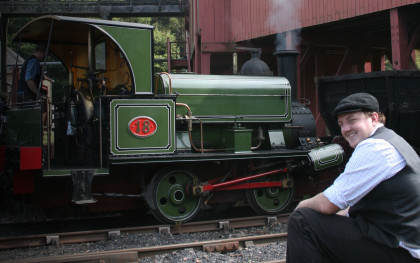 Lewin in the Colliery Railway