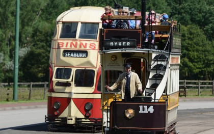Trams, Transport at Beamish