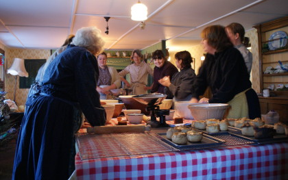 Christmas Cookery at 1940s Farm