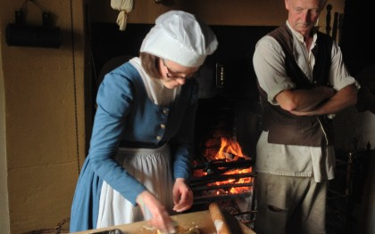 Cooking at Pockerley Old Hall