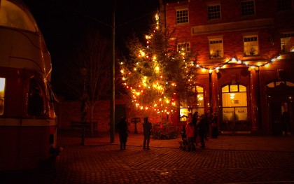 Christmas Evening in the Town.