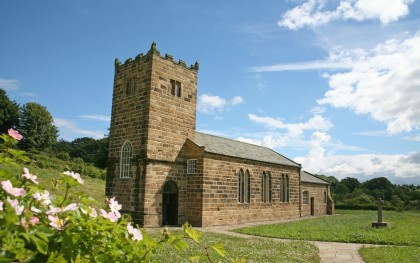 Learn about the buildings at Beamish. St Helen's Church at Beamish.