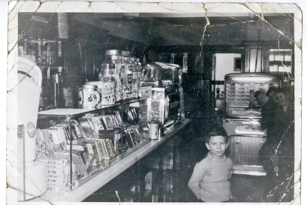 The interior of John's Cafe in Wingate which will be recreted in the 1950s Town
