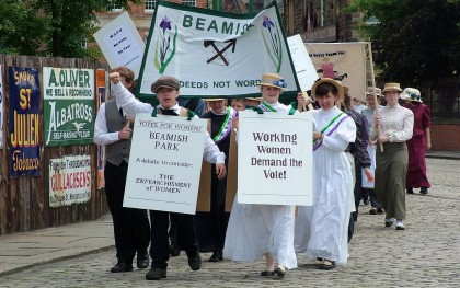 Beamish Suffrage Rally