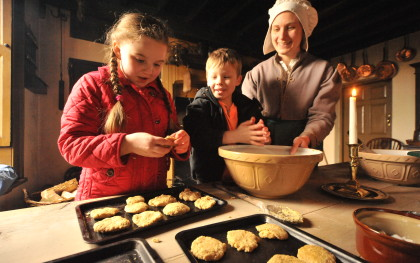 Pockerley Old Hall baking