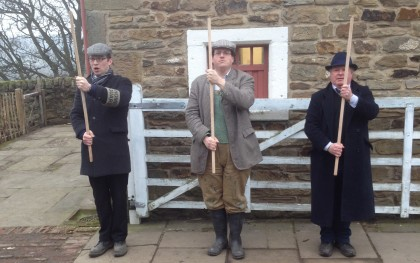 Home Guard at the 1940s Farm