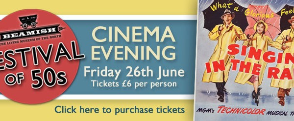 Cinema Evening tickets on sale