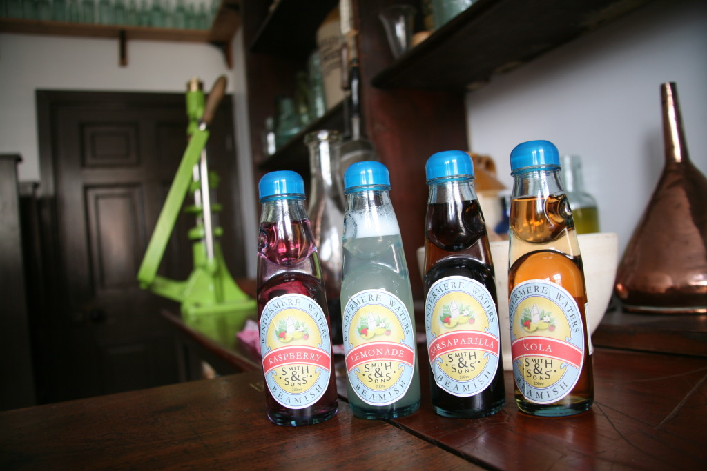 Beamish Museum Delicious aerated waters available from W Smith's Chemist