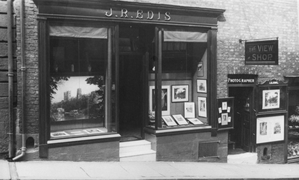 The Studio at 52 Saddler Street, Durham City in the 1920s.