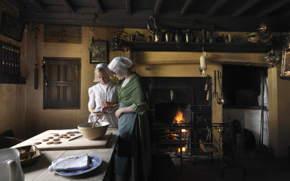 Discover a Day in the Life of a Georgian Maid as you immerse yourself in the world of the Georgians.