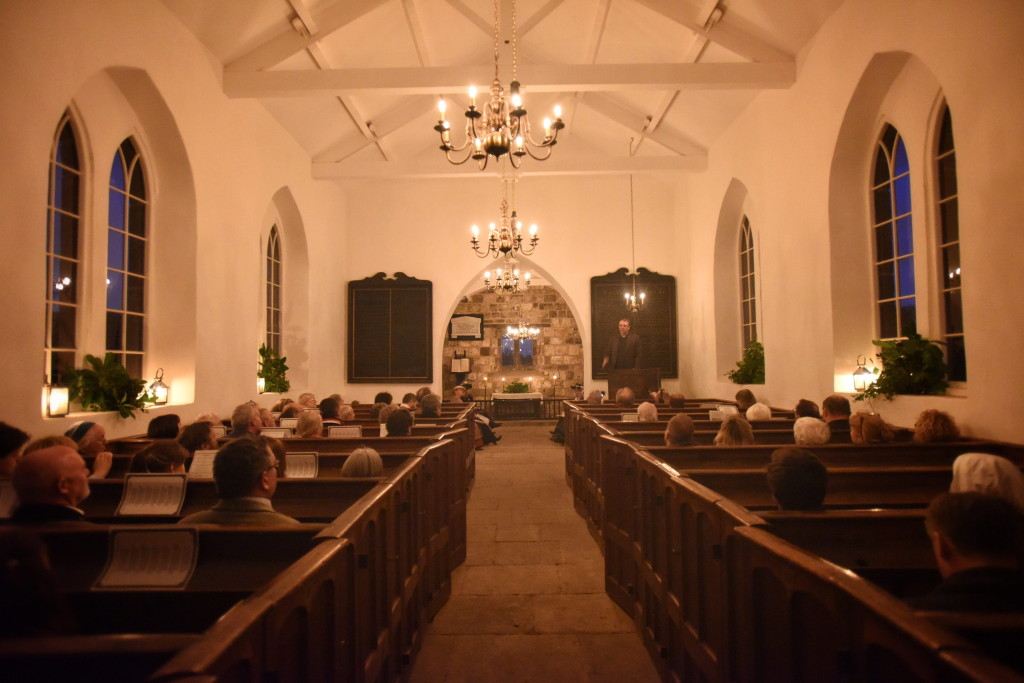 The opening of St Helen's Church, Eston