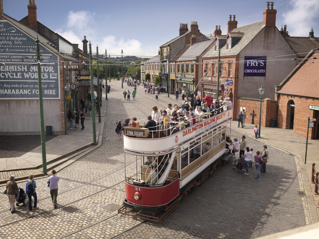 The award winning Town at Beamish