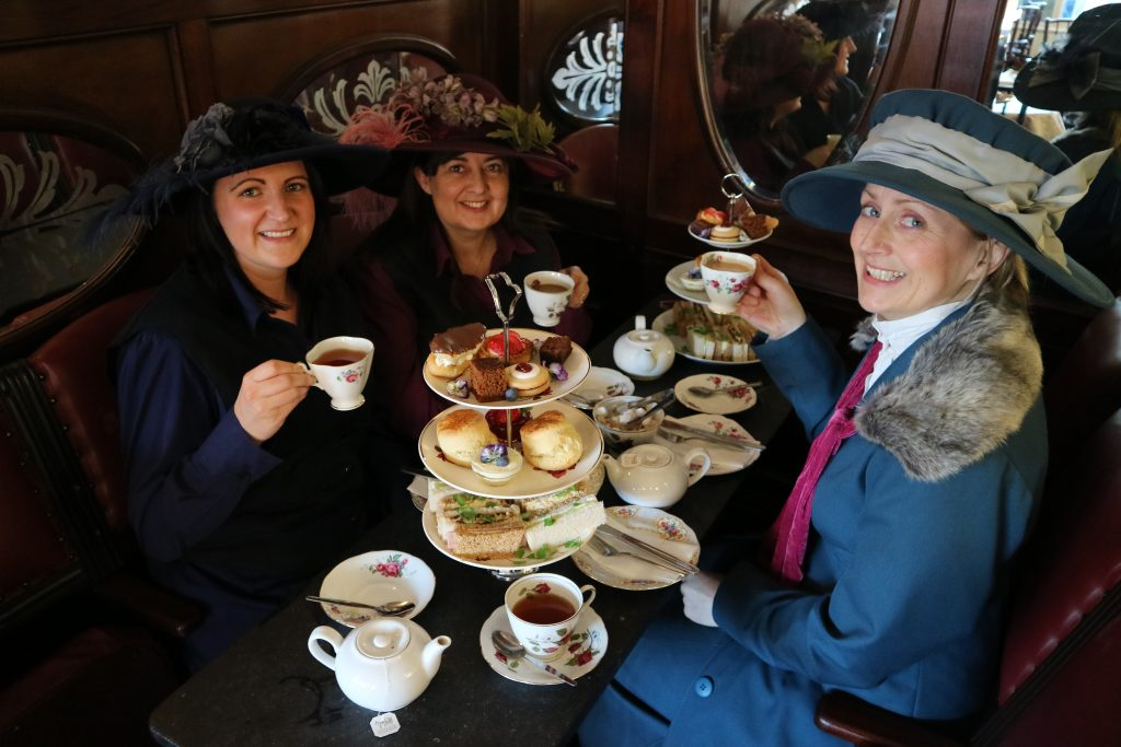 Afternoon Tea, Cookson Room, tasty treats, sandwiches, durham, cakes, scones, tea, victorian