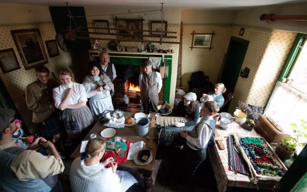 Volunteers, Record Breaking, Beamish, Museum, Attraction, North East, Events, England, Great Day Out, Top Ten Places, Family Friendly, Dog Friendly, Victorian, 1940s, World War Two, 1950s, Festival, Transport, Costume, Learning