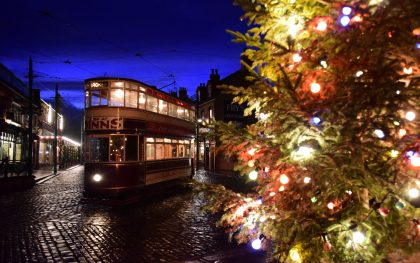 Christmas Evenings at Beamish Museum, County Durham