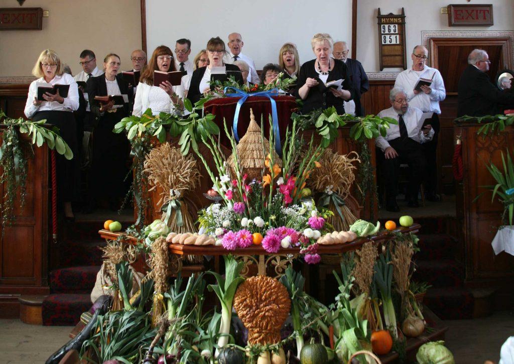 harvest festival church decorations