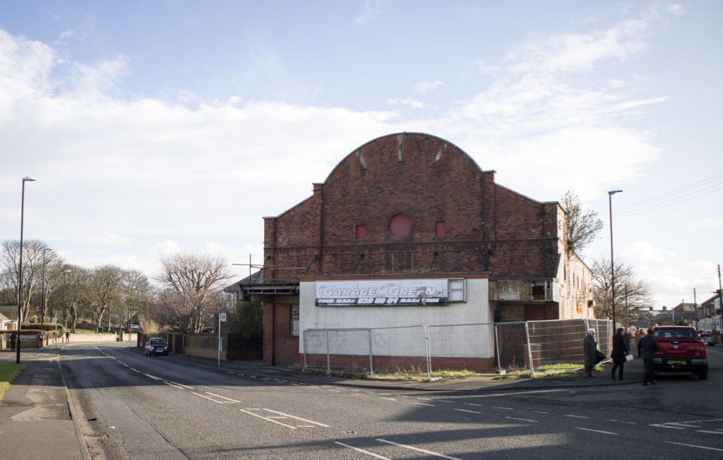 Grand Electric Cinema, Ryhope, Sunderland prior to its dismantling to Beamish as part of Remaking Beamish project.