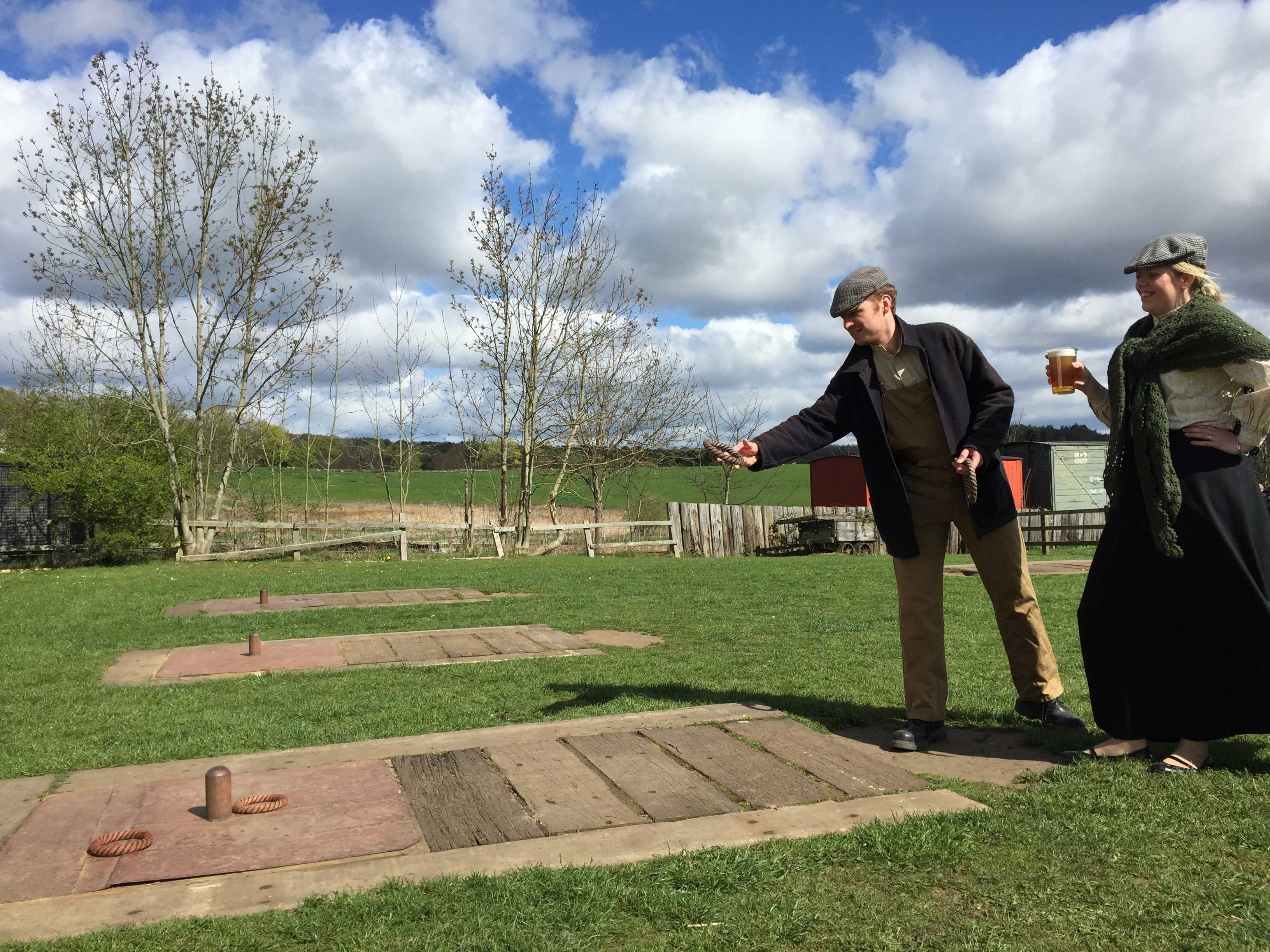 Quoits Weekend Beamish