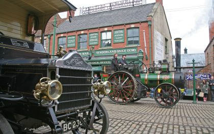 Great North Steam Fair at Beamish, steam, railway, trains, horses, machinery, transport