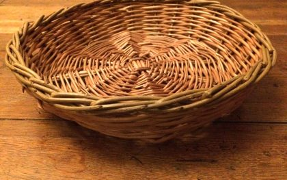 Basket making traditional experience at Beamish Museum