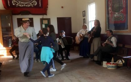 Musical Mondays in the Band Hall at Beamish Museum