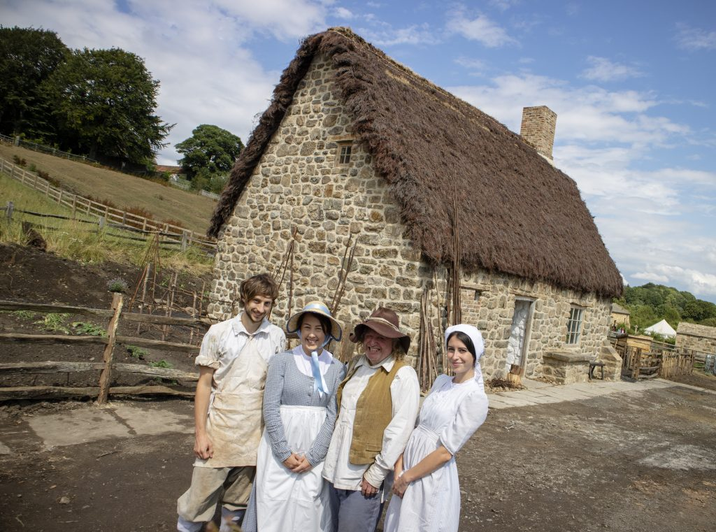 What's New at Beamish? Joe the Quilter's cottage