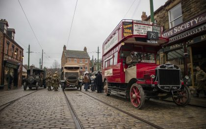 Great North Steam Fair at Beamish Museum, County Durham