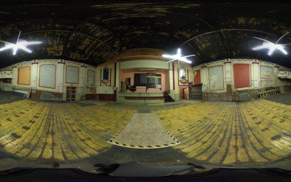 Grand Electric Cinema, Ryhope, 360 degree view