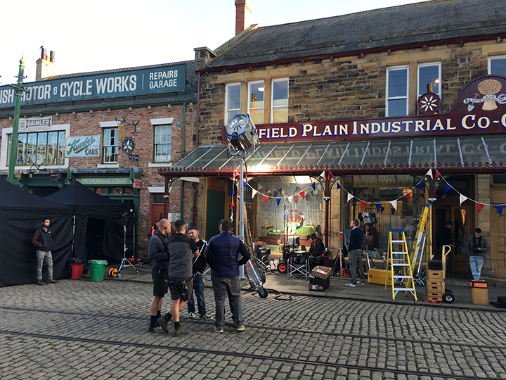 New Downton Abbey Film at Beamish Museum