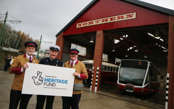 The opening of the Northern General Transport Bus Depot has opened its doors at Beamish, The Living Museum of the North
