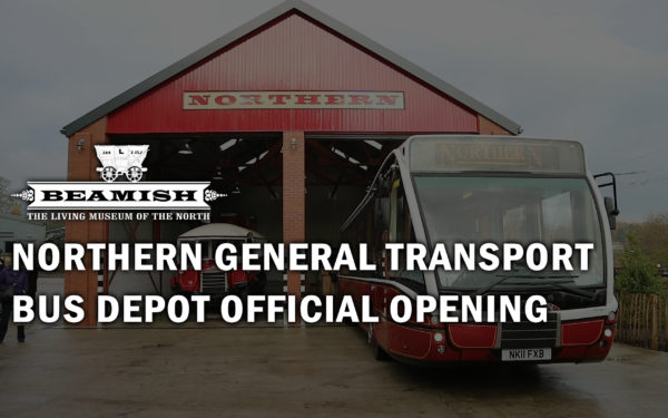 Northern General Transport Bus Depot Official Opening