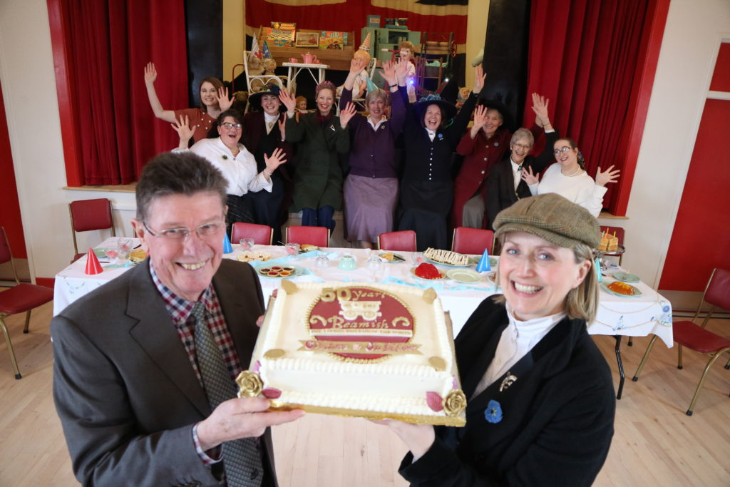 Beamish Museum's Golden Jubilee celebrations begin with birthday parties around the museum 15th to 23rd February