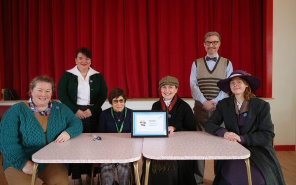 Beamish staff an volunteers with the Top Accessible Venue award