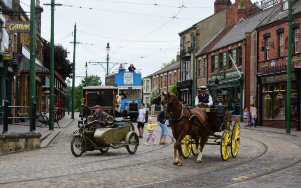 Beamish Museum 1900s Town Street
