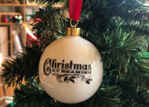 Christmas at Beamish Luxury Bauble