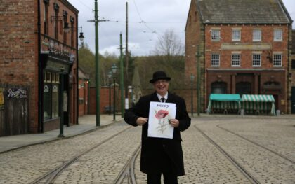 Take part in the Beamish Flower Trail
